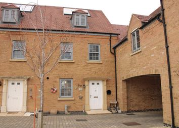 Thumbnail 4 bed town house for sale in Eydon Drive, Corby