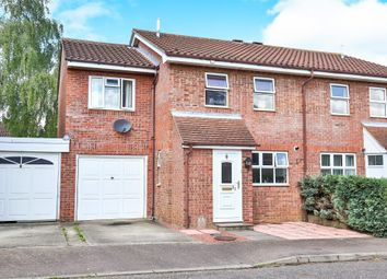 Thumbnail 4 bed semi-detached house for sale in Melton Close, Wymondham