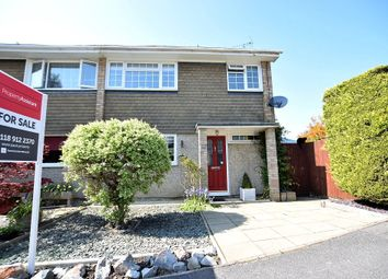 Thumbnail 3 bed semi-detached house for sale in Chamberlain Gardens, Arborfield, Berkshire