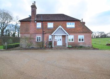 Hale Oak Road, Chiddingstone, Edenbridge TN8. 4 bed detached house