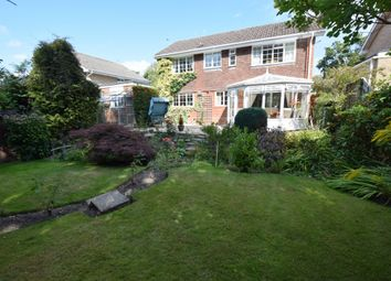 Thumbnail 4 bedroom detached house for sale in Beechwood Close, Church Crookham, Fleet