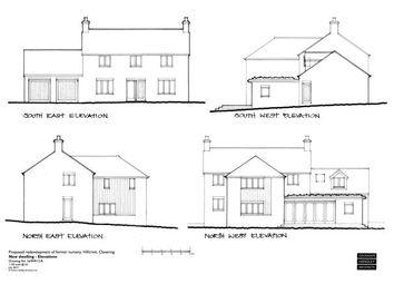 Thumbnail Detached house for sale in Hillcrest, Hill Green, Clavering, Saffron Walden, Essex