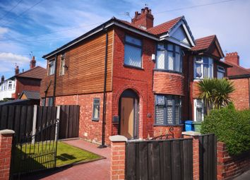Thumbnail 3 bedroom semi-detached house for sale in Leamington Road, Reddish, Stockport, Cheshire