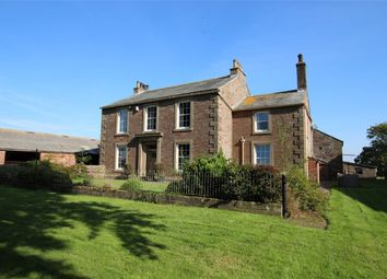 Thumbnail 5 bed detached house for sale in Wiggonby House, Wiggonby, Wigton, Cumbria