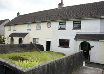 Thumbnail 2 bed terraced house to rent in Beacon Road, Summercourt, Newquay