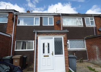 Thumbnail 3 bed terraced house to rent in Easingwold Gardens, Luton
