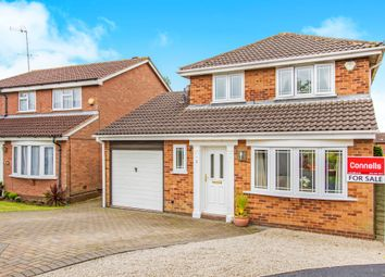 Thumbnail 3 bedroom detached house for sale in Lancaster Court, Groby, Leicester