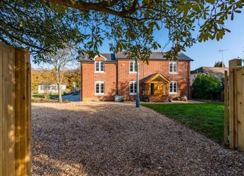 Thumbnail 4 bed detached house for sale in Crawley Hill, West Wellow, Romsey