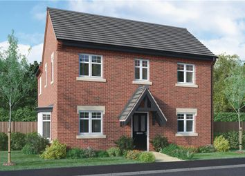 "Thumbnail 4 bedroom detached house for sale in ""Repton"" at Burton Road, Streethay, Lichfield"