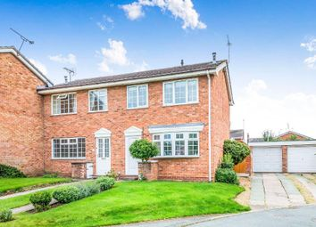 Thumbnail 3 bed semi-detached house for sale in Scaife Road, Nantwich, Cheshire