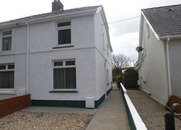 Thumbnail Semi-detached house to rent in Tycroes Road, Tycroes, Ammanford, Carmarthenshire.