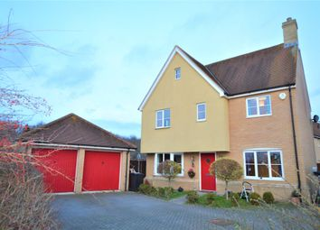 Thumbnail 4 bed detached house for sale in Helen Ewing Place, Colchester