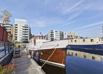 Thumbnail 2 bed houseboat for sale in Poplar Dock Marina, Docklands