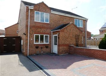 Thumbnail 2 bedroom property to rent in Brookside Close, Ruskington, Sleaford, Lincs