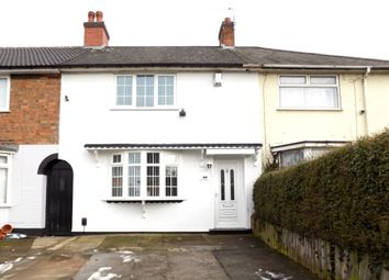 Thumbnail 3 bed terraced house for sale in Linford Grove, Yardley, Birmingham
