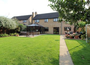 Thumbnail 5 bed detached house for sale in Dry Leys, Orton Longueville, Peterborough