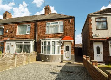 Thumbnail 2 bed end terrace house for sale in Graham Avenue, Hessle Road, Hull