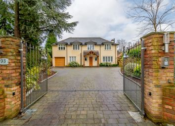 Thumbnail 4 bed detached house for sale in Almners Road, Lyne, Chertsey