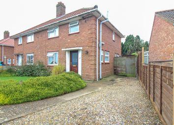 Thumbnail 3 bed semi-detached house for sale in Ethel Gooch Road, Wymondham