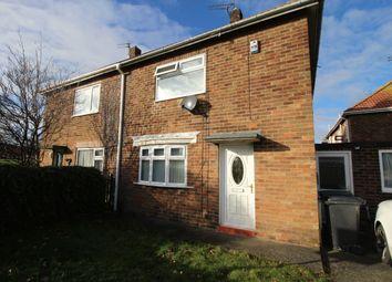 Thumbnail 2 bed semi-detached house for sale in Wood Lane, Bedlington