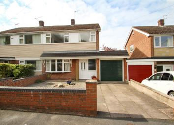 Thumbnail 3 bed semi-detached house to rent in Lydford Place, Westonfields, Stoke-On-Trent