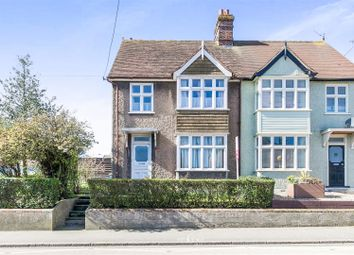 Thumbnail 3 bed semi-detached house for sale in Swan Street, Sible Hedingham, Halstead