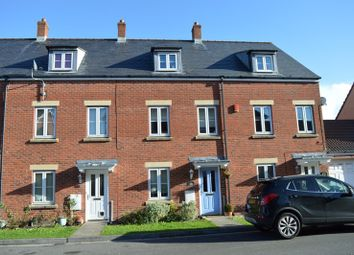 Thumbnail 4 bed town house for sale in Stroud Way, Weston Village, Weston-Super-Mare
