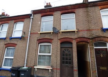 Thumbnail 3 bedroom terraced house to rent in Baker Street, Luton
