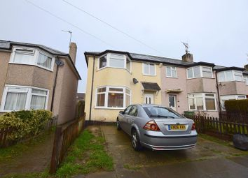 Thumbnail 3 bed end terrace house to rent in Surrey Avenue, Leigh-On-Sea