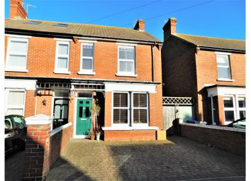 Thumbnail 3 bed semi-detached house for sale in Gordon Road, Shoreham-By-Sea