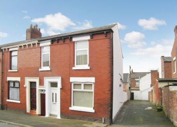 Thumbnail 3 bed end terrace house to rent in Stocks Road, Preston