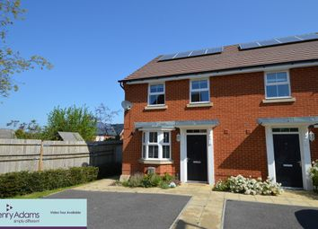 Thumbnail 3 bed semi-detached house to rent in Meadowcroft Close, Clanfield