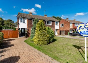 Thumbnail 3 bed semi-detached house for sale in Giffard Drive, Farnborough