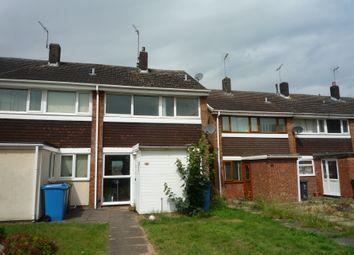 Thumbnail 3 bedroom terraced house to rent in Elm Walk, Penkridge