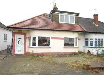 Thumbnail 2 bed semi-detached bungalow for sale in Parkfields Avenue, Kingsbury