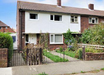 Thumbnail 3 bed end terrace house for sale in Helyers Green, Wick, Littlehampton