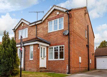 Thumbnail 2 bedroom semi-detached house for sale in Brambling Mews, Leeds