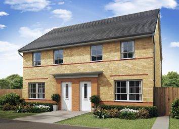 "Thumbnail 3 bedroom semi-detached house for sale in ""Maidstone"" at Brutus Court, North Hykeham"