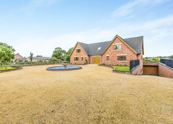 Thumbnail 6 bed detached house for sale in Crewe Road, Walgherton, Nantwich, Cheshire