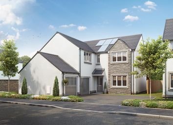 "Thumbnail 4 bed detached house for sale in ""The Turnbury"" at Burdiehouse Road, Edinburgh"