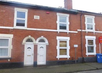 Thumbnail 4 bed terraced house to rent in Wolfa Street, Derby, Derbyshire