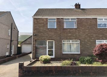 Thumbnail 3 bed semi-detached house to rent in Maes Glas, Caerphilly