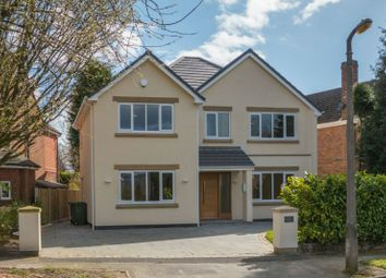 Thumbnail 4 bed detached house for sale in Crabtree Avenue, Hale Barns, Altrincham