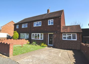 Thumbnail 4 bed semi-detached house for sale in Lime Grove, Guildford
