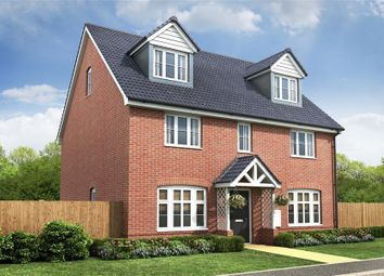Thumbnail 5 bed detached house for sale in Mallard Way, Sprowston, Norwich