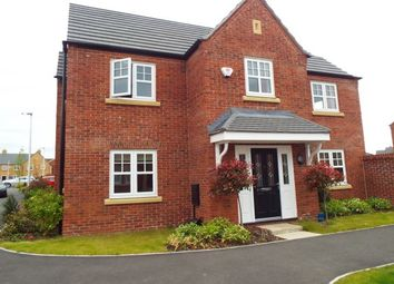 Thumbnail 4 bed detached house to rent in Commissioner Square, Warrington