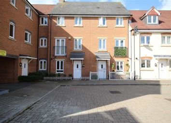 Thumbnail 3 bedroom town house for sale in Piernik Close, Swindon