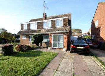 Thumbnail 3 bed semi-detached house for sale in Boxgrove, Goring By Sea, Worthing