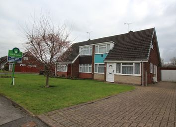 Thumbnail 3 bed semi-detached house for sale in Hurst Drive, Stretton, Burton-On-Trent