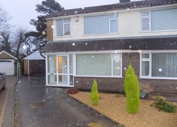 Thumbnail 3 bedroom semi-detached house to rent in Cairn Close, Bucknall, Staffordshire